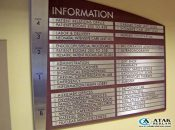 İç Mekan Yönlendirme Tabelası Örnekleri
