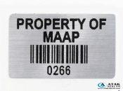 Metal Etiket / Alüminyum Metal Etiket